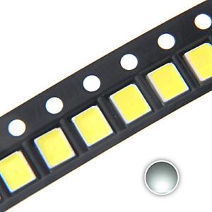 100 Pcs 2835 WHITE SMD LED Diode Lights Surface Mount Chip 2.8Mm X 3.5Mm DC 3V 1