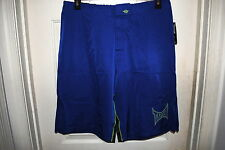 TAPOUT OFFICIAL UFC MOFO FIGHT SHORTS ROYAL BLUE SIZES 36 & 38 RP $59.99 NWT