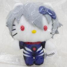 Evangelion Nagisa Kaworu Hello Kitty Plush Doll Figure Sanrio JAPAN ANIME MANGA