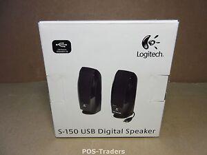 Logitech S150 Digital USB - Stereo Luidspreker Speaker voor PC - NOUVEAU IN DOOS