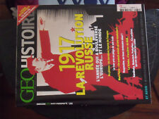21$$ Revue GEO HISTOIRE n°31 1917 La Revolution Russe / Raspoutine / Tcheka