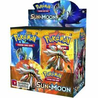 New 324pcs Pokemon cards TCG: Sun & Moon Edition 36 Packs Per Box Collectible