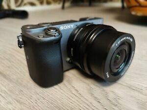 Appareil Photo SONY a6000 + Objectif E PZ 16-50 mm F 3,5-5,6 avec stabilisateur
