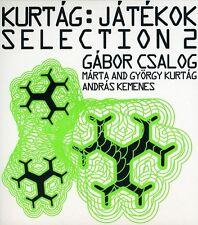 G bor Csalog - Jatekok Selection 2 [New CD] Digipack Packaging
