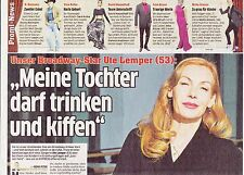 """Ute Lemper  """"Collection"""" of german reporters & articles..."""