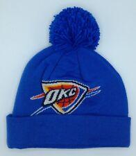 NBA Oklahoma City Thunder Adidas con Risvolto Pon Invernale Cappello a  Maglia f1f165eb105e