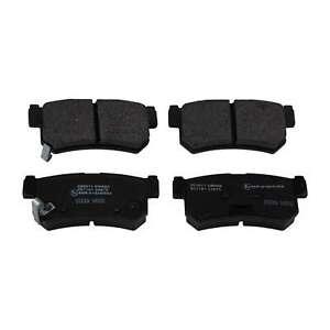 For Ssangyong Kyron 2.0 Xdi Eurobrake Rear Disc Brake Pads Set