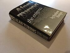 RARE Andrew Hodges Alan Turing The Enigma First Edition First Printing