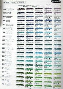 Schmincke 400 verschiedene einzelne Pastelle 2