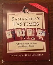 American Girl Doll Samantha's Pastimes Retired Rare Activities Collection