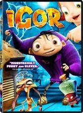 DVD - Animation - Igor - John Cusack - Molly Shannon - Steve Buscemi
