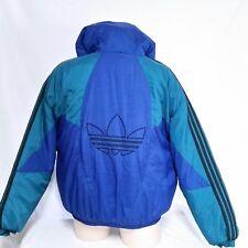 VTG Adidas Winter Coat Trefoil Logo Colorblock Jacket 90s Ski Olympics Team  XL 6716f0387a38