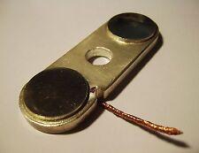 Silber Kontakt Schaltplatte,  TESLA Trafo , Hochspannung , Power switch