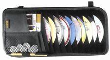 Premium Sun Visor CD-DVD Holder Storage Organizer for Auto-Car-Truck Interior