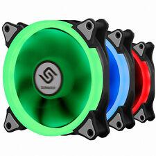 New Design PC Fan 120mm 25T 6 Pin Hydro Bearing RGB LED 1 EA