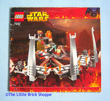 Lego Star Wars 7257 Ultimate Lightsaber Duel - INSTRUCTION BOOK ONLY - No Lego