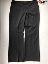 NWT Style & Co Tummy Control Stretch City Pants size 16 - Charcoal Heather Gray
