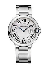 Cartier Stainless Steel Case Women's Analogue Wristwatches