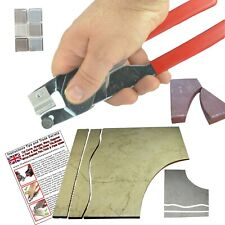 Real Amazing Tile & Glass Cutter Ceramic Floor Mirrors Stained Glass Mosaics Red