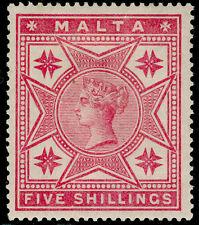 More details for malta sg30, 5s rose, m mint. cat £110.