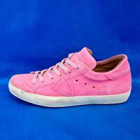 Philippe Model Designer Damen Schuhe Sneaker Paris Rosa Pink Leder Np 275 Neu