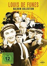 LOUIS DE FUNES - BALDUIN COLLECTION Nachtgespenst KNALLSCHOTE .. 6 DVD Box NEU