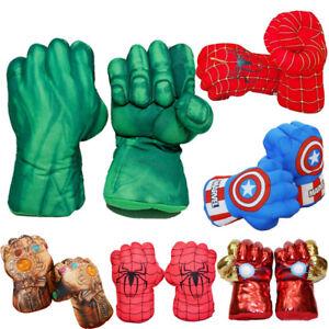 Kind Boxhandschuhe Avengers Spiderman Hulk Handschuhe Cosplay Spielzeug Gifts