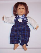 "Vintage Older 10"" GIGO Expressions Dolls Boy Big Frown Mad Face GUC"