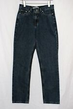 Tommy Hilfiger Womens Jeans Size 10 Long Dark Wash Straight Leg Ditto