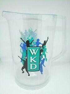 wkd plastic cocktail party mixer pitcher jug beer mats bar man cave summer house