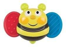 Busy Bee Baby Buzz'r Musical Vibrating Baby Soother Teether Ages 3mo+ Multicolor