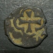 Medieval Billon Silver Coin Lot 1200-1400 Ad Crusader Templar Cross Ancient Keys