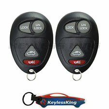 2 Replacement for Buick Regal - 2001 2002 2003 2004 Keyless Entry Car Fob Remote