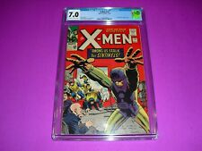 X-Men #14 CGC 7.0 w/ OW/W pages from 1965! 1st Sentinels Marvel Comics not CBCS