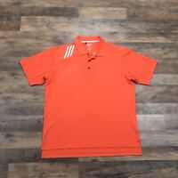 Adidas Polo Shirt Men's Large Short Sleeve Golf Polo Athletic Climacool Adult