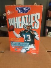 Miami Dolphins  Dan Marino Limited Edition Wheaties Box Starting Lineup