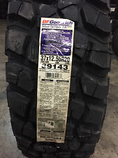 5 New LT 37 12.50 20 BFGoodrich Mud Terrain T/A KM2 8 Ply Mud Tires