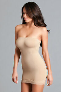 sexy BE WICKED backless STRAPLESS spandex SHAPER shapewear BODY slimming DRESS
