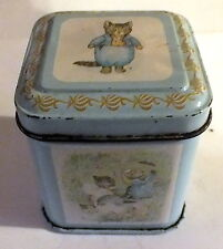 Hunkydory Designs Frederick Warne Co 1983 Tom Kitten Little Tin Box collectable
