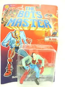 1994 The BOTS MASTER Dr. Hisss, Evil Enemy Chamber Action Figure w/3D Glasses