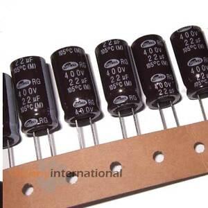 22uF 400V 105°C ELECTROLYTIC CAPACITOR Samwha Valve  - AUS STOCK