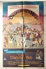 CHARLOTTE'S WEB ORIGINAL CINEMA RELEASE ONE SHEET VINTAGE MOVIE POSTER