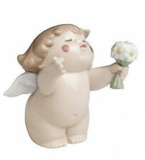 Porcelana Nao By Lladro: Cheeky Querubines: Flores para usted 020.05059