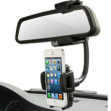 Car Rear view Mirror Cradle Mount Holder For Samsung Galaxy S9 S8 S7 Note 9 8 5