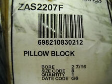 REXNORD ZAS-2207F PILLOW BLOCK BEARING 2-7/16 BORE  NEW