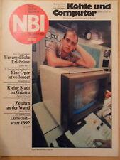 """NBI 39/1988 ** Olympiasieger Luftschiffstart 1992 Kleingartenanlage """"Einigkeit"""""""