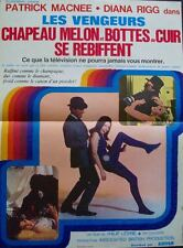 AVENGERS French Petite movie poster R71 DIANA RIGG CHAPEAU MELON & BOTTES NM