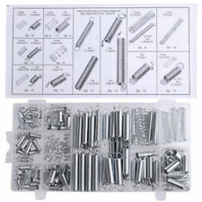 200 x SPRING SET / EXTENDED COMPRESSION EXPANSION TENSION SPRINGS KIT 20 Size