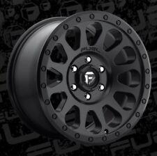 Fuel Vector D579 20x10 6x5.5 ET-18 Matte Black Rims New Set (4)