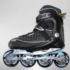 Gelegenheit | DAMEN Sports Inliner 84 mm | Inline Skates Softboot ALU 011blue 38
